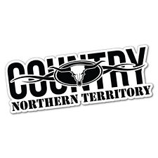 Country NT Northern Territory Sticker Decal Outback 4x4 Ute Country Aussie #5...