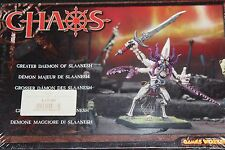 Games Workshop Warhammer Greater Daemon of Slaanesh BNIB New Boxed Fantasy Metal