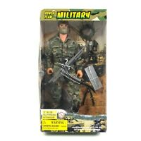 "M&C Power Team Military Action Figure 12"" Camouflage Uniform and Paint"