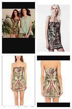 IRO Katalyn Silk Strapless Dress Sz S