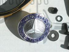 Original Mercedes W123 Kühlergrill Reparatursatz mit Emblem M5! NOS! Restposten!