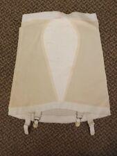 Pillow Tabbed Vtg 50s 60s NEW Open Bottom Shaper Girdle w/ Nylon Garters M 27/28
