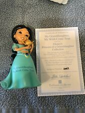 "Hamilton Collection Disney Princess Of A Granddaughter 4.5"" Jazmine Figurine"