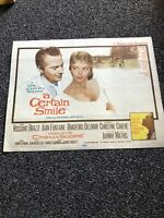 A Certain Smile-Lobby Card-#1-1958-Rossano Brazzi-Joan Fontaine