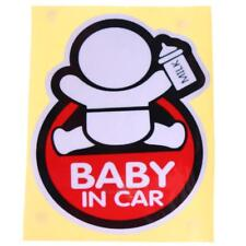 Baby on Board Car Auto Truck Warning Reflective Sticker Graphics Decal Stickers