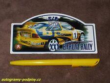 2000 Barum Rally /Trajbold, FORD Escort/ - Sticker/Aufkleber