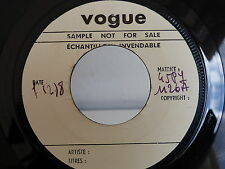 Test pressing ROBERT MONTECRISTO Gimme gimme 45 PY 1126 VOGUE