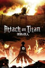 24x36 Attack on Titan Japanese Poster Shrink Wrapped