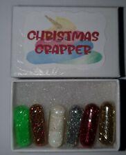 GLITTER POO PILLS X 6 CHRISTMAS CRAPPER