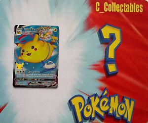 Pokemon Card Flying Pikachu VMAX 007/025 Celebrations 25th Anniversary Holo Rare