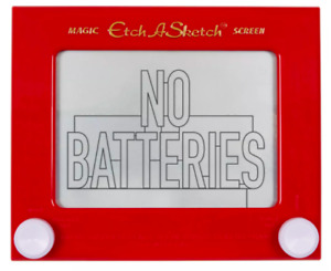 ETCH-A-SKETCH - CLASSIC EDITION Kids Children Creative Drawing Birthday Gift