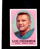 9555* 1958 Topps # 81 Lou Creekmur NM