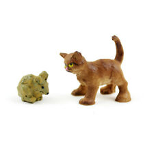 Miniature Dollhouse FAIRY GARDEN - Mini Cat And Mouse - Accessories