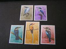 PAPUA NEW GUINEA, SCOTT # 529-533(5), COMPLETE SET 1981 BIRDS ISSUE MNH
