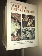 the international WILDLIFE ENCYCLOPEDIA set of 20, burton 1970 marshall cavendis