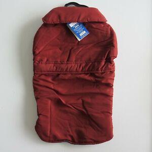 XXL Dark Red Dog Barn Jacket fleece lining Coat Warm Winter Parka Pet burgundy