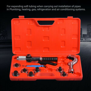CT-300A Hydraulic Tube Expander Kit Tubing Expanding Tool With 7 Expander Heads