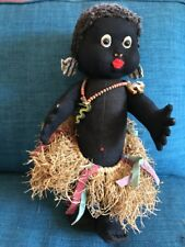 Vintage Lenci Doll Black African - Wonderful- Marlene Dietrich Had One!