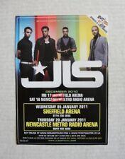 JLS - A5 TOUR FLYER 2010 & 2011