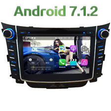 Android 7.1 Car DVD Player Radio GPS for Hyundai I30 2011 2012 2013 2014 2015-16