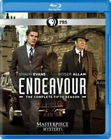 ENDEAVOUR TV SERIES COMPLETE FIFTH SEASON 5 New Blu-ray Masterpiece Mystery