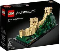 LEGO Architecture 21041 - Grande Muraglia Cinese NUOVO