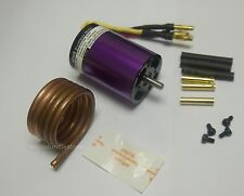 MBL36K22B: B3650(540) KV2200 Brushless Motor S5mm with Bass Coil for RC Boat