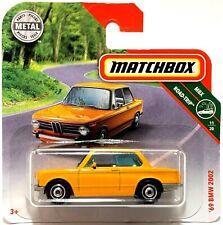"1969 BMW 2002 Yellow Matchbox MBX Road-Trip 11/20 MB1173 3"" inch 2019 FYP28 #7"