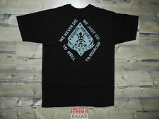 KREW DENIM - NEVER DIE T-SHIRT NEU GR:M BLACK KREW CLOTHING