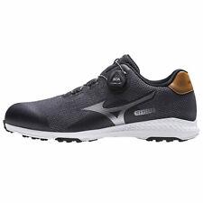 2021 Mizuno Nexlite 008 Boa Spikeless Golf Shoes - Black - Choose Size