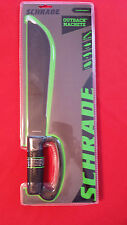 BRAND NEW IN PACKAGE SCHRADE OUTBACK MACHETE ~GREAT HIKING & CAMPING TOOL!!
