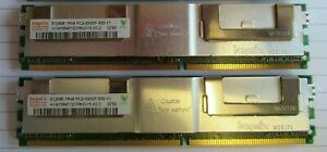 Hynix HYMP564F72CP8N3-Y5 1GB (2x512MB) PC2-5300 DDR2 ECC CL5 240P DIMM Memory