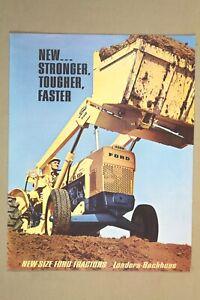 Orig Australian 1960's MOORE FORD 3400 /3500 /4400 /4500 Tractor Sales Brochure