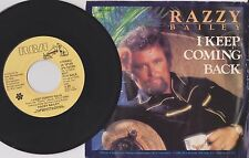 RAZZY BAILEY {80s Country Pop} I KEEP COMING BACK / TRUE LIFE.. ♫hear promo