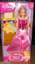 2003 Disney Charming Princess Aurora doll Sleeping Beauty barbie briar rose pink