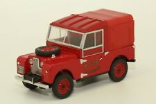LAND ROVER SERIE 1 88 POMPIER 1/43 OXFORD