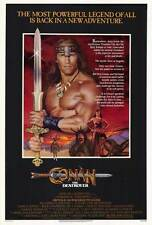 """CONAN THE DESTROYER Movie Poster [Licensed-NEW-USA] 27x40"""" Theater Size (1984)"""
