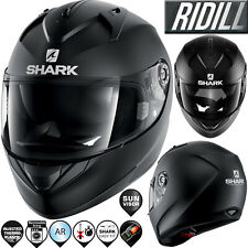 Schwarz SHARK Herren NC Motorrad Helm XS
