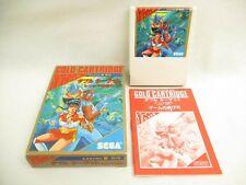 DOUBLE TARGET Item Ref/bcc Sega Mark III 3 Gold Japan Game m3