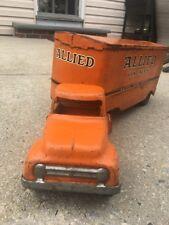 Vintage Tonka Allied Van Lines Moving Semi Truck and Trailer Pressed Steel Toy