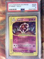 Pokemon PSA 9 Mint Skyridge Holo Rare Starmie H28/H32