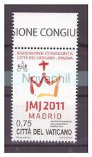 VATICANO 2011 -  MADRID CONGIUNTA SPAGNA  NUOVO **