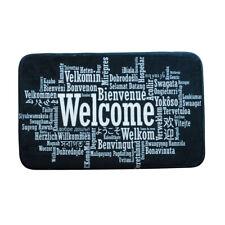 Carpet Doormat Mat Bath Rug WELCOME Print Non-Slip Doormat Welcome Floor C2M2