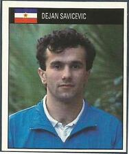 ORBIS 1990 WORLD CUP COLLECTION-#282-YUGOSLAVIA-DEJAN SAVICEVIC
