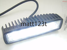 18W DRL 6x 3W white led lamp spotlight reversing light 12 24 volt car floodlight