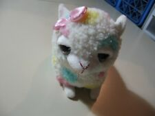 """7"""" plush bean bag Sheep/Lamb doll, made by Applause, good condition"""
