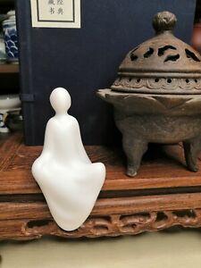 Oriental White Ceramic Art Statue