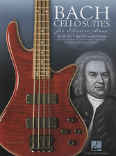 Bach Cello Suites Electric Bass Guitar TAB Music Book