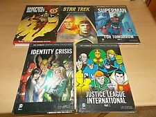 More details for a collection of 5 graphic novels all are new !! -all are listed