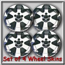 "Set of 4 Chrome Wheel Skins Hubcaps 15"" 2004-2009 Toyota Prius Wheel Covers"
